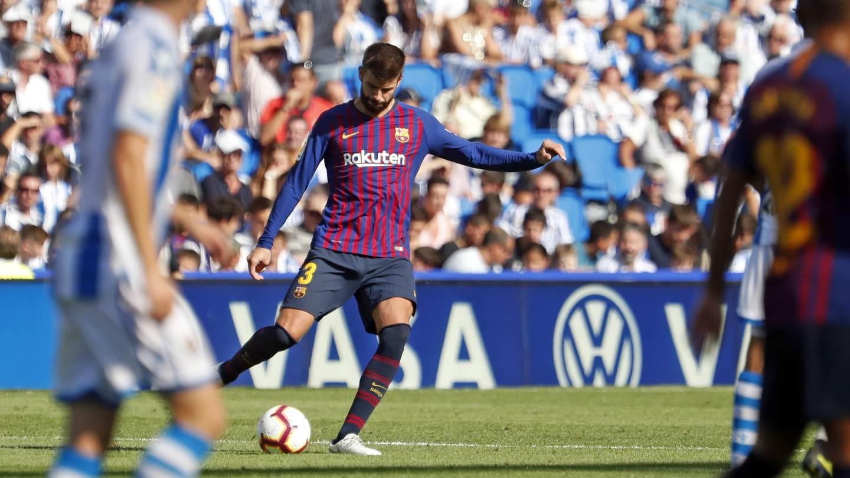 صور مباراة : ريال سوسيداد - برشلونة 1-2 ( 15-09-2018 ) 98507326