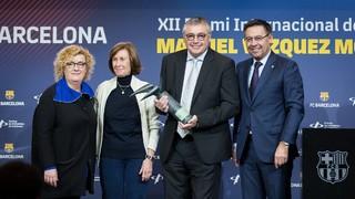 Entrega del XII Premio Internacional de Periodismo Manuel Vázquez Montalbán