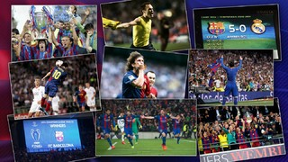 Take a look back and vote for the most extraordinary first team moments from the last 18 years, including the arrival of Ronaldinho to Messi's 500th goal, and the Champions League wins