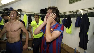 Sergi Roberto recorda l'ascens a Segona A del Barça B l'any 2010