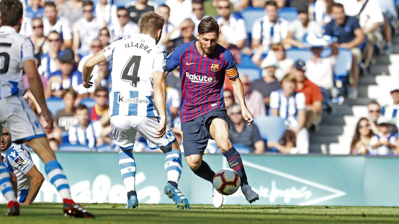 صور مباراة : ريال سوسيداد - برشلونة 1-2 ( 15-09-2018 ) 98522942