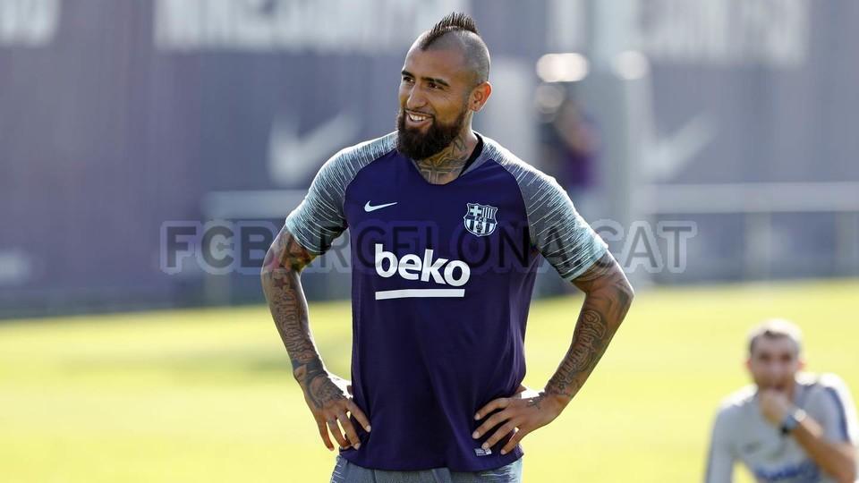 تدريبات مكثفة في برشلونة استعداداً لمباراة الأحد ضد جيرونا 21-09-2018 99246910