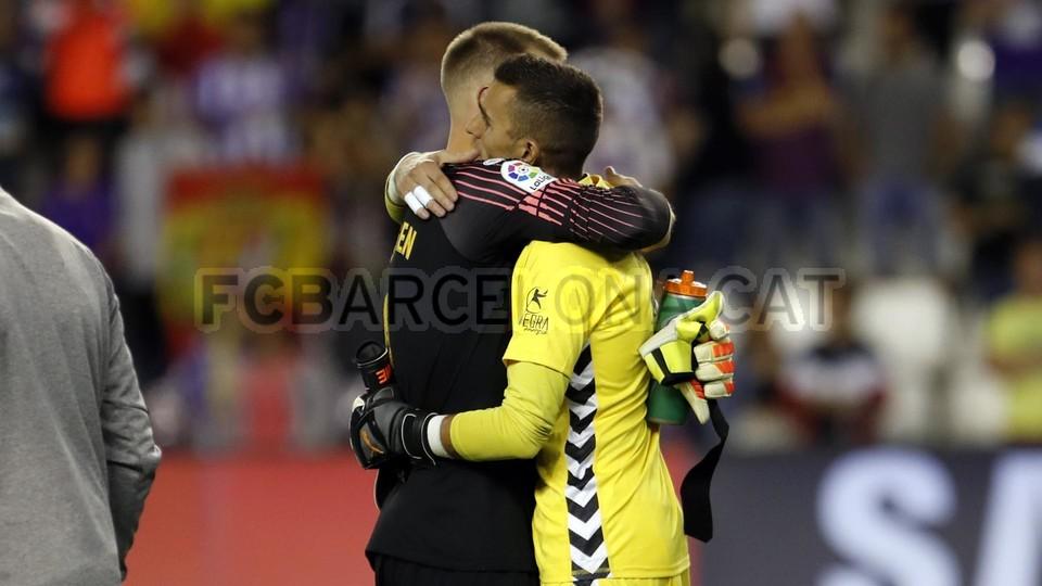 صور مباراة : بلد الوليد - برشلونة 0-1 ( 25-08-2018 )  96768575