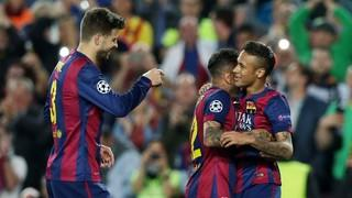 FC Barcelona 2 - Paris Saint-Germain 0 (1 minut) (tornada quarts de final 2014-15)