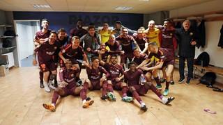 Així ha estat la celebració del FC Barcelona a Riazor