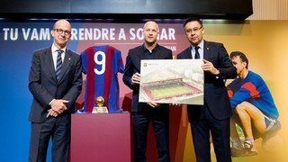 The stadium at the Ciutat Esportiva will be named after Johan Cruyff