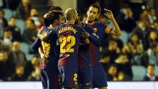 Celta 1 - FC Barcelona 1 (1 minute)