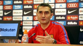 What Ernesto Valverde said at his pre-game press conference