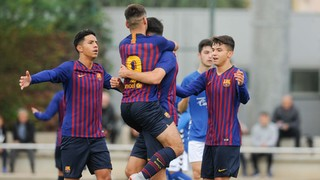 Juvenil A- Gimnàstic Manresa: Victòria treballada (2-0)