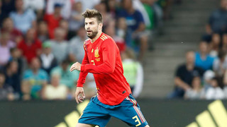 The Barça centre back and striker are in action for Spain and Uruguay, respectively, on Wednesday