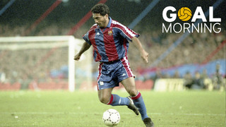 Goal Morning! Here is Romario's first goal for FC Barcelona!