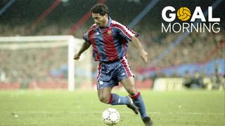 Goal Morning! Aquí tens el primer gol de Romario amb el FC Barcelona!