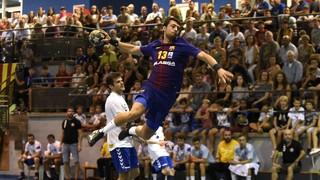 Sant Esteve de Sesrovires 21 - 32 FC Barcelona Lassa (handbol) (Semifinals Supercopa Catalunya)