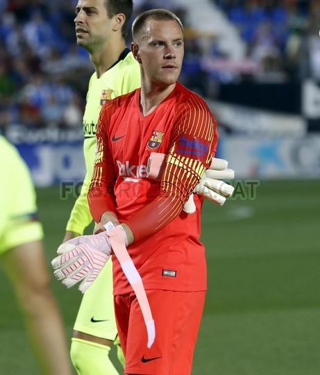 صور مباراة : ليغانيس - برشلونة 2-1 ( 26-09-2018 ) 99848513