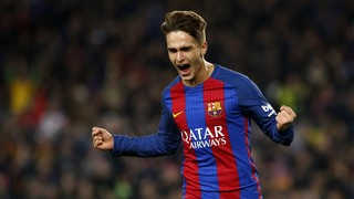 Denis Suárez delighted with his two goals and a place in the semi-finals