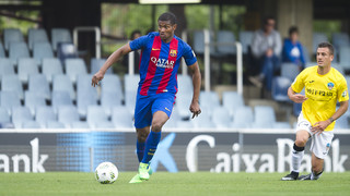 Marlon Santos: Privilege to be staying at Barça