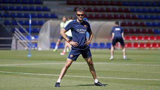 The Asturian coach has emphasized the importance of Saturday's game in the press conference ahead of the Copa del Rey final against Alavés