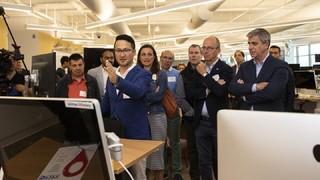 El Barça visita la sede de Rakuten y Facebook en San Francisco