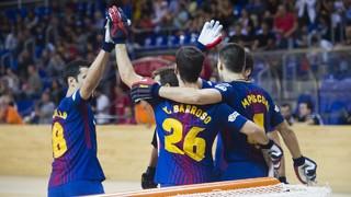 FC Barcelona Lassa 7 - Palafrugell 1 (OK Liga)