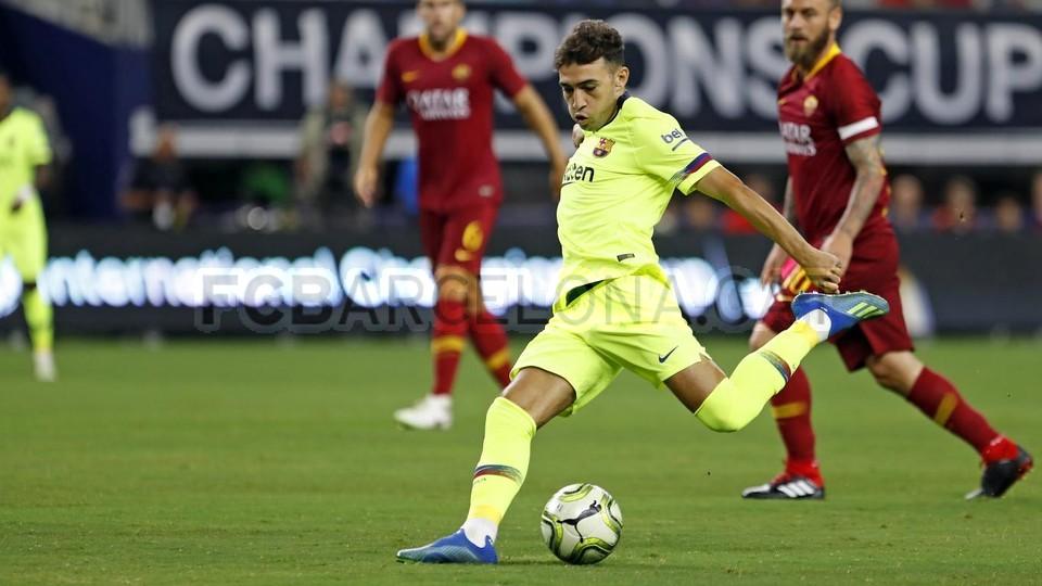 صور مباراة : برشلونة - روما 4-2 ( 01-08-2018 )  95179842