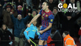 GOAL MORNING! Don't miss Xavi Hernández goal