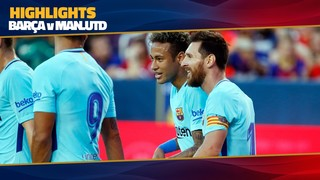 FC Barcelona - Manchester United (1 minute)