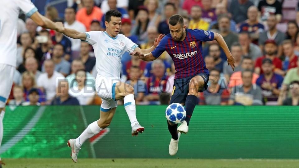 صور مباراة : برشلونة - PSV إندهوفن 4-0 ( 18-09-2018 )  98884164