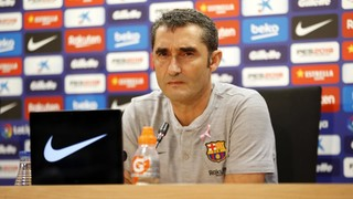 The blaugrana coach underlined the importance of Saturday's game against league leaders Sevilla