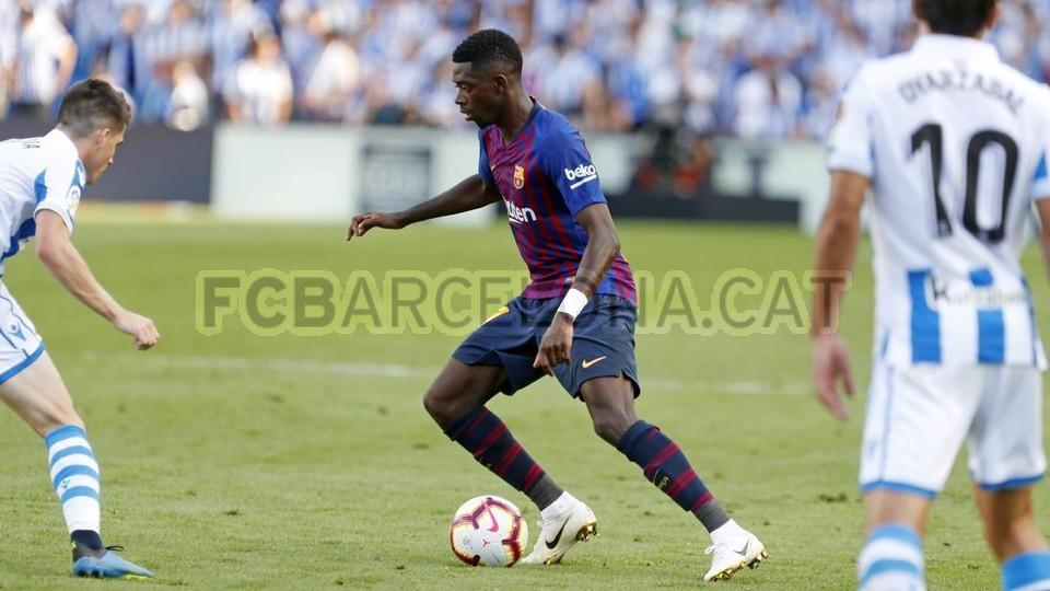 صور مباراة : ريال سوسيداد - برشلونة 1-2 ( 15-09-2018 ) 98507332
