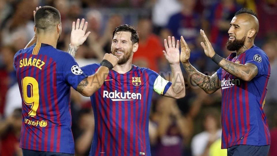 صور مباراة : برشلونة - PSV إندهوفن 4-0 ( 18-09-2018 )  98901828