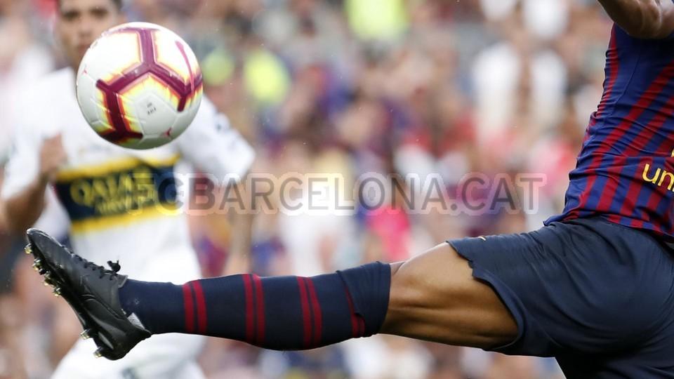 صور مباراة : برشلونة - بوكا جونيورز ( 16-08-2018 )  96024132
