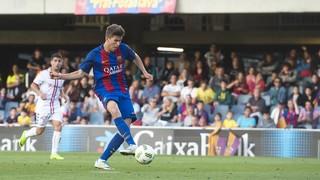 FC Barcelona B 0 - Cultural Leonesa 2 (Play-off)