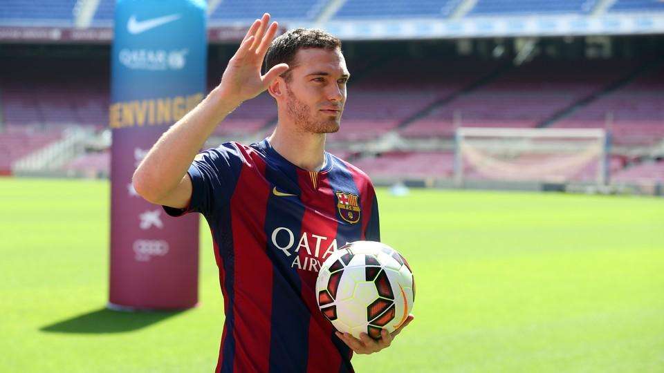 Maillot THIRD FC Barcelona Vermaelen