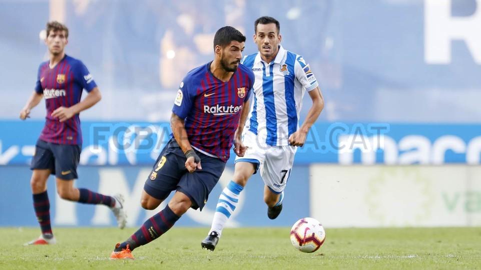 صور مباراة : ريال سوسيداد - برشلونة 1-2 ( 15-09-2018 ) 98522948