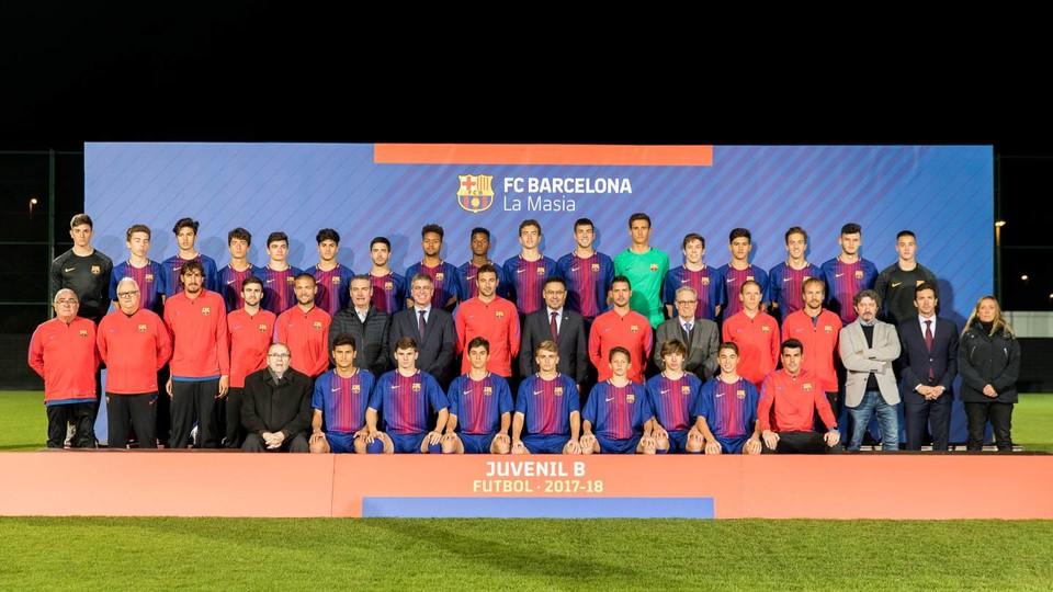 FC Barcelona - Juvenil B 2017/2018 - FC Barcelona