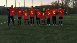 FCB kids on Leo Messi