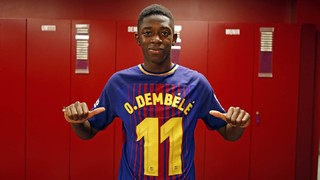 A day with Ousmane Dembélé