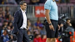 "Ernesto Valverde: ""S'acaben les paraules per definir a Leo Messi"""