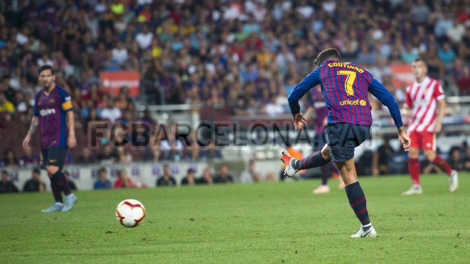 صور مباراة : برشلونة - جيرونا 2-2 ( 23-09-2018 )  99551814