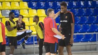 """Xavi Pascual: """"Els jugadors han vingut amb moltes ganes"""""""