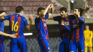 FC Barcelona B 4 - Llagostera 0 (Liga)