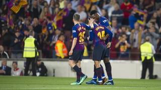 FC Barcelona 1 - Reial Societat 0 (3 minuts)