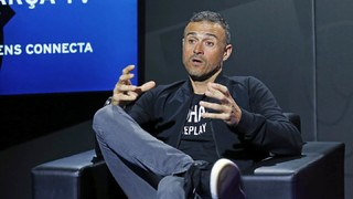 Luis Enrique: 'We play the best football and that has to bring returns'
