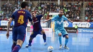 Inter Movistar 4 - FC Barcelona Lassa 1 (LNFS)