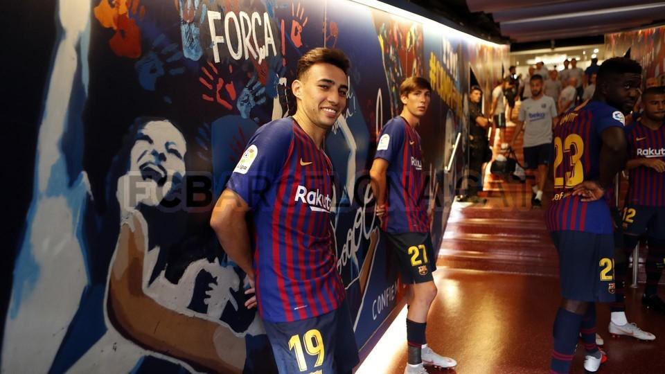 صور مباراة : برشلونة - بوكا جونيورز ( 16-08-2018 )  96023878
