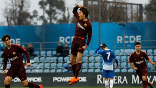 Espanyol 1 - Juvenil A 1 (Liga)