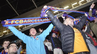 First ever El Clásico match party at Camp Nou