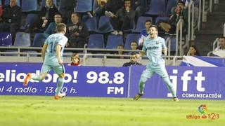 Tenerife - FC Barcelona B: Triunfo solvente en un campo complicado (1-3)