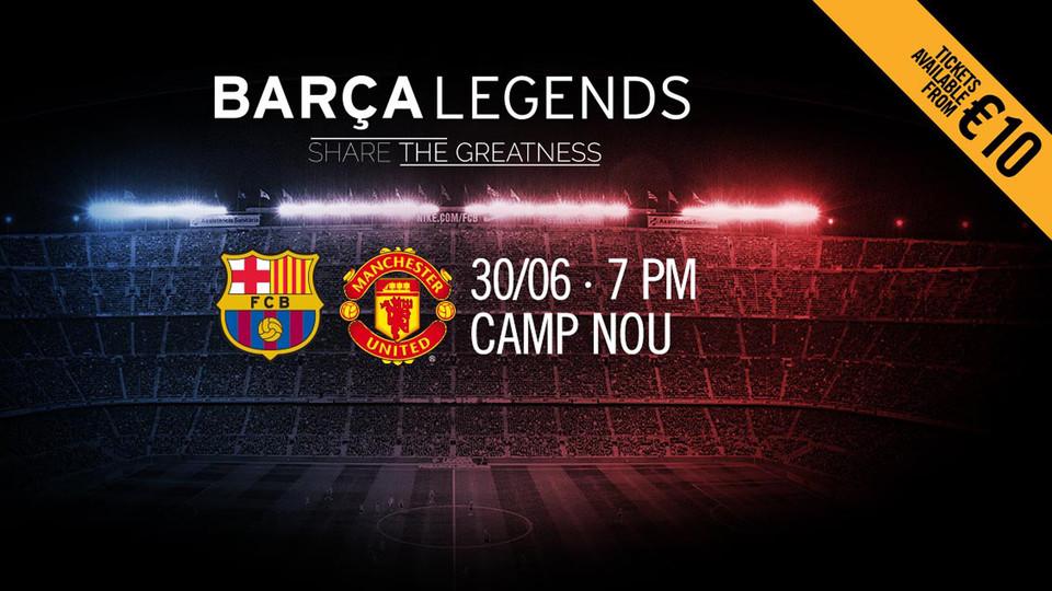 """Barcelona Legends"" vs ""Manchester United Legends"" l Tarkiblar ma'lum"