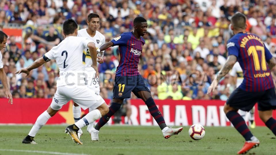 صور مباراة : برشلونة - بوكا جونيورز ( 16-08-2018 )  95974984